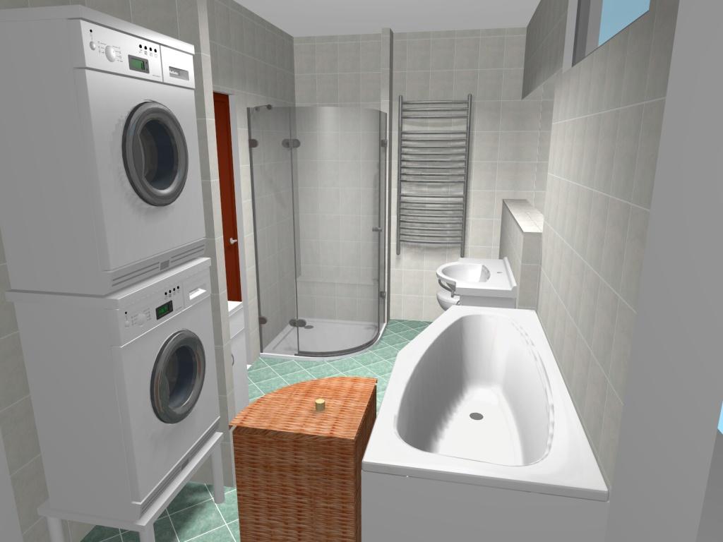 Malé koupelny – návrhy